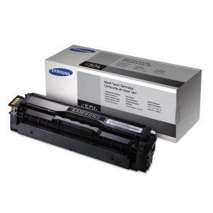 Samsung (CLT-K504S/XAA) Black Toner Cartridge (2,500 Yield)