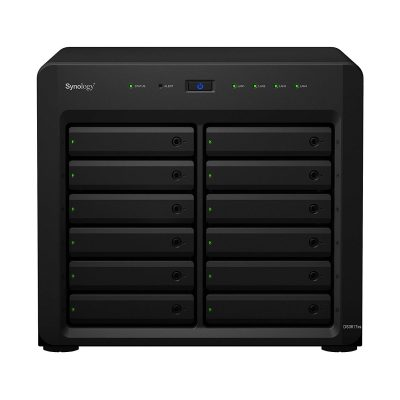 Synology DS3617xs NAS Disk Station, Diskless, 12-Bay; 16GB DDR4