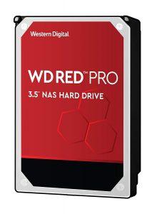"""WD Red Pro 10TB NAS Internal Hard Drive - 7200 RPM Class, SATA 6 Gb/s, 256 MB Cache, 3.5"""" - WD101KFBX"""