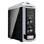 "Cooler Master Stryker SE SGC-5000W-KWN2 Computer Case - Full-tower - White - Tempered Glass, Plastic, Steel - 8 x Bay - 4 x 7.87"", 5.51"", 4.72"" x Fan(s) Installed - ATX, XL-ATX, Micro ATX, Mini ITX, EATX Motherboard Supported - 8 x Fan(s) Supported - 1 x External 5.25"" Bay - 1 x External 2.5"" Bay - 4 x Internal 2.5"" Bay - 2 x Internal 2.5""/3.5"" Bay(s) - 11x Slot(s) - 4 x USB(s) - 1 x Audio In - 1 x Audio Out"
