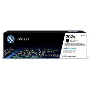 HP 202X Original Toner Cartridge - Black - Laser - High Yield - 3200 Pages CF500X