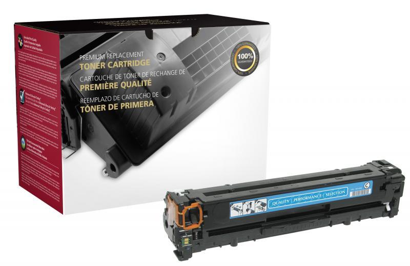 CB541A Toner Cartridge - HP Remanufactured (Cyan)