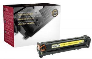 CB542A Toner Cartridge - HP Remanufactured (Yellow)