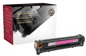 CB543A Toner Cartridge - HP Remanufactured (Magenta)