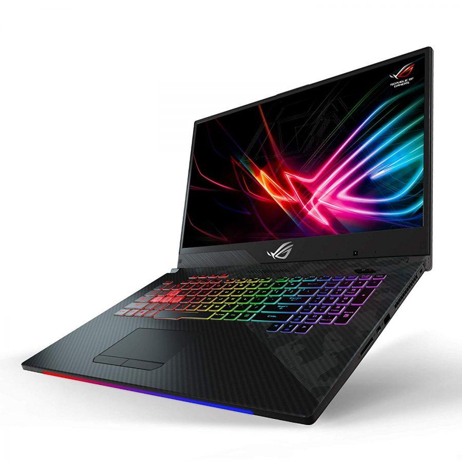 """ROG Strix SCAR II 17.3"""" Gaming Notebook i7 i7-8750H 16 GB RAM 512 GB SSD 1 TB HHD Windows 10 RTX 2070 8 GB 17.3IN"""