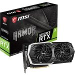 "MSI ARMOR GeForce RTX 2070 ARMOR 8G GeForce RTX 2070 Graphic Card – 8 GB GDDR6 – 1.41 GHz Core – 256 bit Bus Width – DisplayPort – HDMI<br><a href=""https://www.impresscomputers.com/product/msi-armor-geforce-rtx-2070-armor-8g-geforce-rtx-2070-graphic-card-8-gb-gddr6-1-41-ghz-core-256-bit-bus-width-displayport-hdmi/"" target=""_blank"">Details</a>"