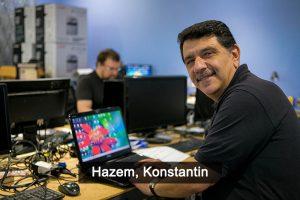 Hazem and Konstantin