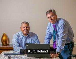 Kurt and Roland