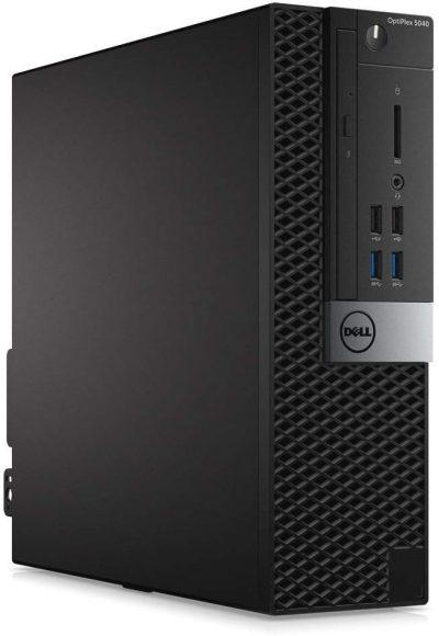 Dell Optiplex 5040-SFF, Core i5-6500 3.2GHz, 8GB RAM, 256GB Solid State Drive, DVD, Windows 10 Pro 64bit