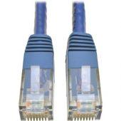 Tripp Lite Cat6 Gigabit Molded Patch Cable RJ45 M/M 550MHz 24 AWG Blue 2' -