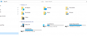 Use File Explorer to go to this PC