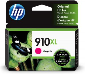 HP 910XL Magenta OfficeJet Pro 80xx Ink Cartridge 825Pg