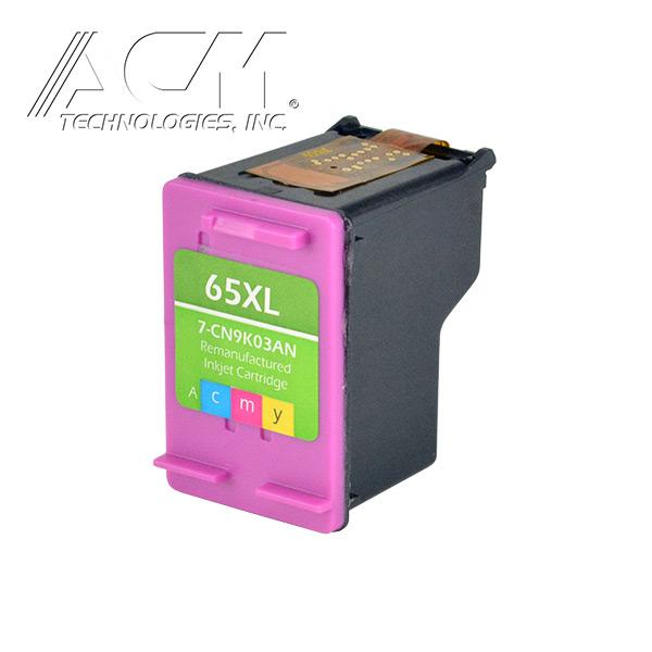 HP 65XL Color Ink Cartridge for Deskjet 3700 series 300pgs