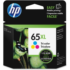 HP 65XL Original Ink Cartridge - Single Pack - Inkjet - High Yield - 300 Pages