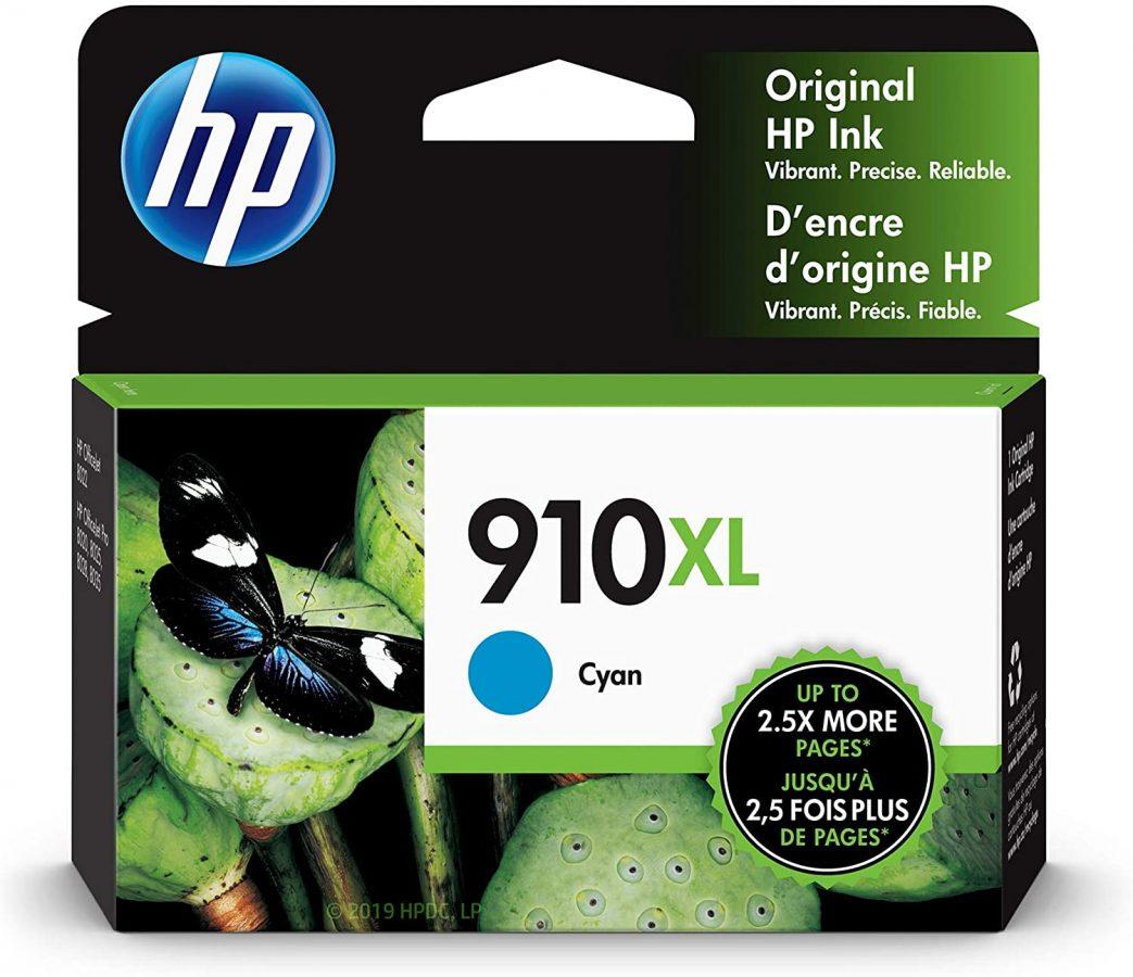 HP 910XL Cyan OfficeJet Pro 80xx Ink Cartridge 825Pg