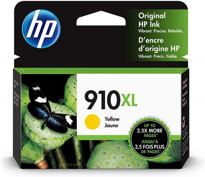 HP 910XL Yellow OfficeJet Pro 80xx Ink Cartridge 825Pg