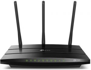 TP-Link AC1750 Smart WiFi Router - Dual Band Gigabit Wireless Internet Router for Home, Works with Alexa, VPN Server, Parental Control&QoS (Archer A7)