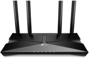 TP-Link WiFi 6 Router AX1800 Smart WiFi Router – 802.11ax Router, Gigabit Router, Dual Band, OFDMA, Parental Controls, Long Range Coverage, Works with Alexa(Archer AX20)