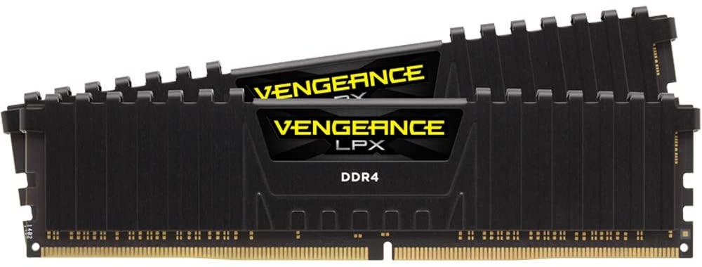 Corsair Vengeance LPX 16GB (2 X 8GB) DDR4 3000 (PC4-24000) C16 1.35V Desktop memory - black PC memory CMK16GX4M2D3000C16