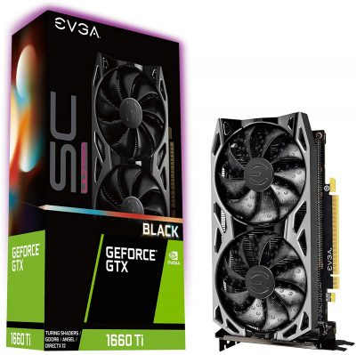 Real Boost Clock: 1770 megahertz; Memory Detail: 6144MB GDDR6 Dual Fan offers higher performance cooling and much quieter acoustic noise Built for EVGA Precision x1: EVGA all new tuning utility monitors your graphics card and gives you the power to overclock like a Pro 3 year Warranty & EVGA top notch technical support.