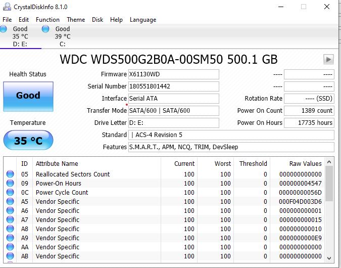 hard drive test