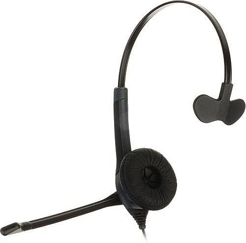 Nuance Dragon HS-GEN-25 Headset - Mono - USB - Wired - Over-the-head - Monaural