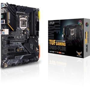 ASUS TUF Z490-PLUS GAMING LGA1200 4DDR4 64MAX M.2 HDMI DP
