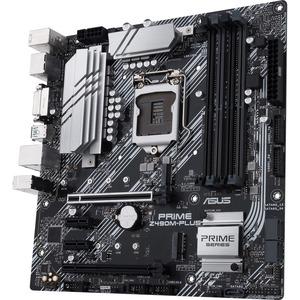 ASUS PRIME Z490M-PLUS LGA1200 4DDR4 64MAX x2 M.2 HDMI DP