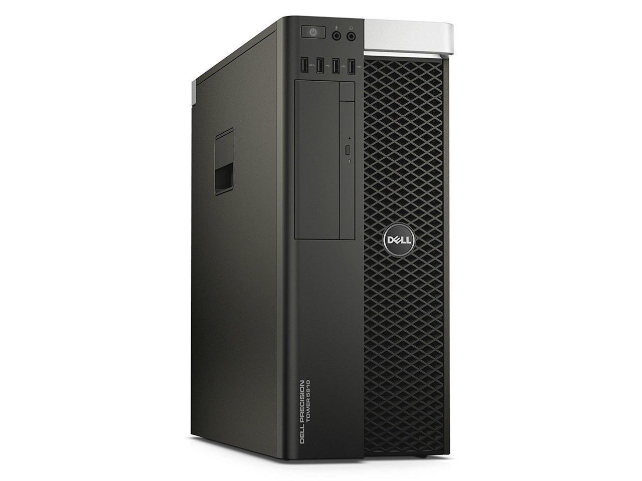 Dell Precision T5800 E5-2680-V3 64G-New 2TB New 240G SSD Quadro K4200 4GB DDR5 W10P