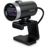 Microsoft LifeCam Webcam - 30 fps - USB 2.0 - 5 Megapixel Interpolated - 1280 x 720 Video - CMOS Sensor - Auto-focus - Widescreen - Microphone