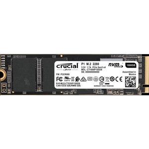 Crucial P1 1TB NVME M.2 Type 2280SS Internal Micro SSD