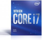 "Basic Product Type: Processor Clock Speed: 2.90 GHz Processor Socket: Socket LGA-1200 Brand Name: Intel L3 Cache: 16 MB Processor Core: Octa-core (8 Core) Thermal Design Power: 65 W Processor Manufacturer: Intel Product Family: Core i7 Environmental Conditions Thermal Specification: 212°F (100°C) General Information Product Type: Processor Manufacturer Part Number: CM8070104282329 Manufacturer Website Address: http://www.intel.com Manufacturer: Intel Corporation Product Model: i7-10700F Product Name: Core i7 Octa-core i7-10700F 2.90 GHz Desktop Processor Package Type: OEM Product Line: Core i7 Brand Name: Intel Physical Characteristics Width: 1.5"" Depth: 1.5"" Power Description Thermal Design Power: 65 W Technical Information Process Technology: 14 nm Clock Speed: 2.90 GHz Processor Socket: Socket LGA-1200 L3 Cache: 16 MB Processor Core: Octa-core (8 Core) 64-bit Processing: Yes Processor Manufacturer: Intel Overclocking Speed: 4.80 GHz Processor Generation: 10th Gen Processor Threads: 16"