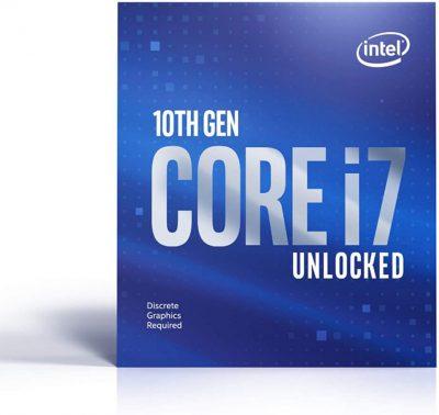 Intel Core i7-10700KF 5GHz OC 8-Core Processor LGA1200