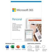 Microsoft Office 365 Personal Subscr 1yr 1PC+1Tablt No Media