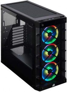 Corsair 465X iCUE RGB Mid-Tower Windowed Case Black
