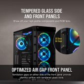 Corsair 465X iCUE RGB Mid-Tower Windowed Case Black