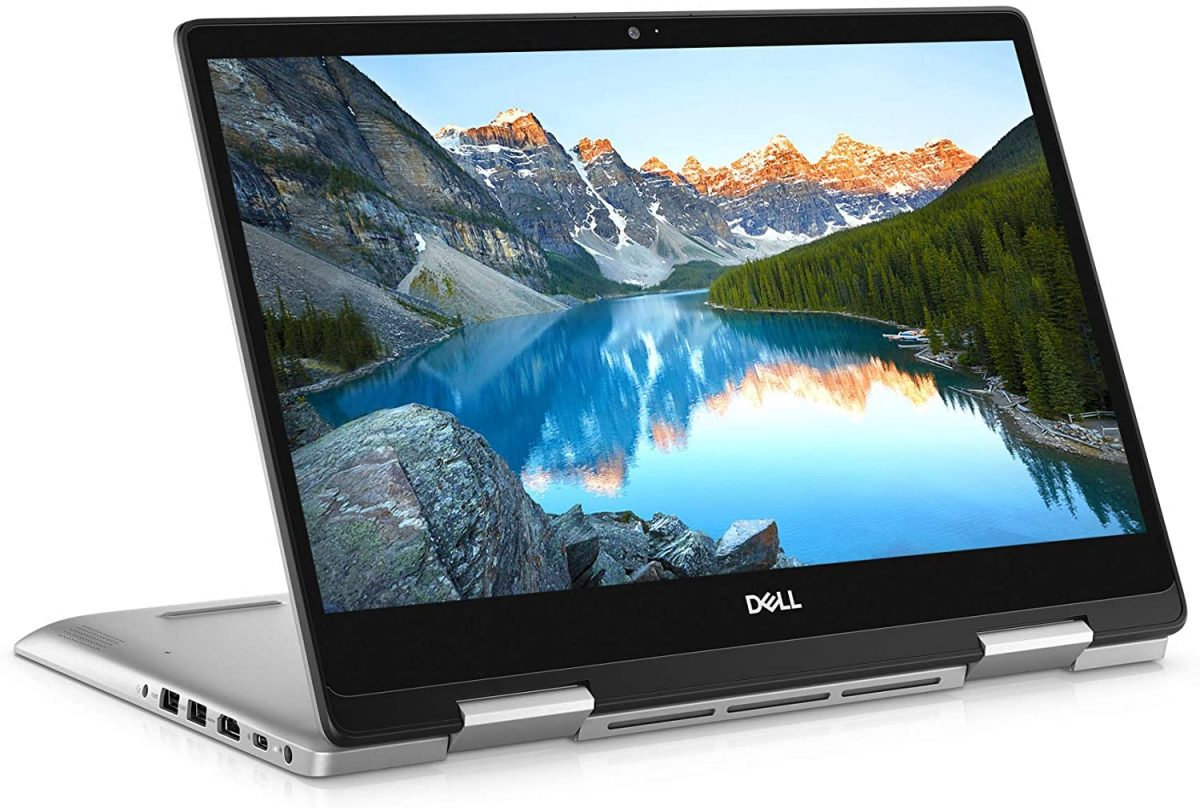 Dell Inspiron 14 5491 14 inch 2in1 Convertible Touchscreen FHD Laptop (Silver) Intel core i7-10510U, 8GB RAM, 512GB SSD, Windows 10 Home