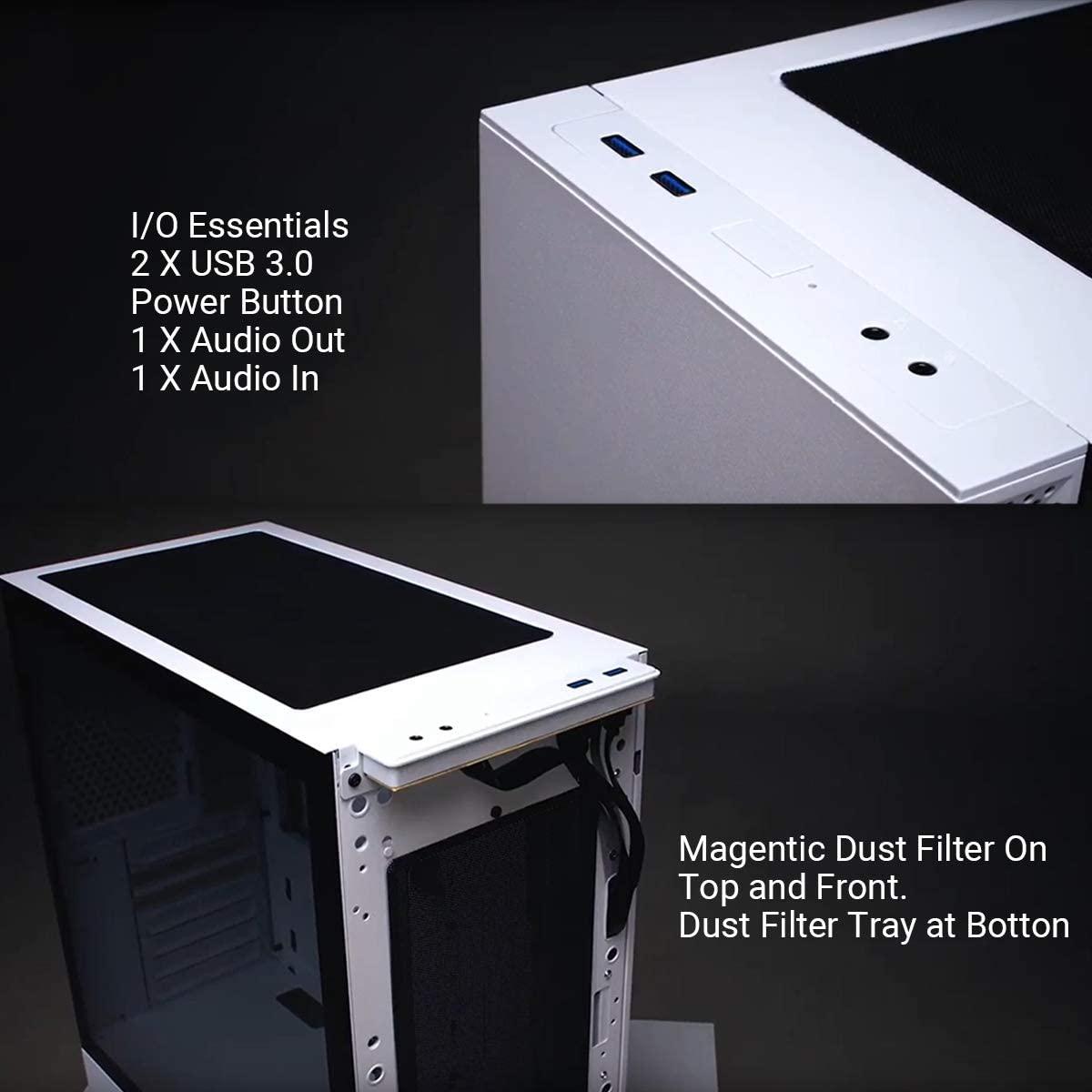 Lian Li LanCool 205 Mid-Tower ATX PC Gaming Case Black