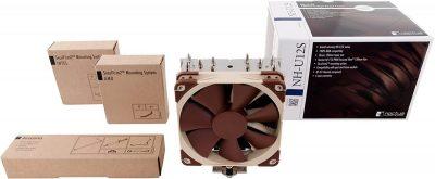 Noctua NH-U12S, Premium CPU Cooler with NF-F12 120mm Fan (Brown)b