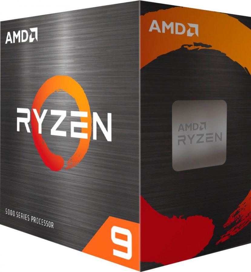 AMD - Ryzen 9 5900X 4th Gen 12-core, 24-threads Unlocked Desktop Processor Without Coole