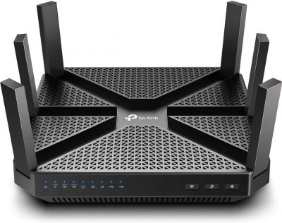 TP-Link AC4000 Smart WiFi Router - Tri Band Router , MU-MIMO, VPN Server, Antivirus/Parental Control, 1.8GHz CPU, Gigabit, Beamforming, Link Aggregation, Rangeboost