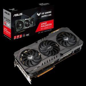 ASUS TUF Gaming Radeon RX 6800 XT TUF-RX6800XT-O16G-GAMING 16GB 256-Bit GDDR6 PCI Express 4.0 HDCP Ready Video Card