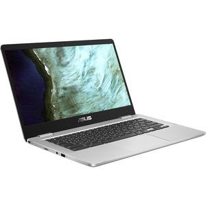"Asus Chromebook C423 C423NA-DH02 14"" Chromebook - HD - 1366 x 768 - Intel Celeron N3350 Dual-core (2 Core) 1.10 GH"