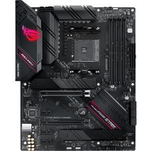 Asus ROG Strix B550-F GAMING Desktop Motherboard - AMD Chipset - Socket AM4 - 128 GB DDR4 SDRAM Maximum RAM - DIMM, UDIMM - 4 x Memory Slots - 6 x USB 3.1 Port - HDMI - 1 x RJ-45 - 6 x SATA Interfaces 3RD GEN RYZEN ATX GAMING MB