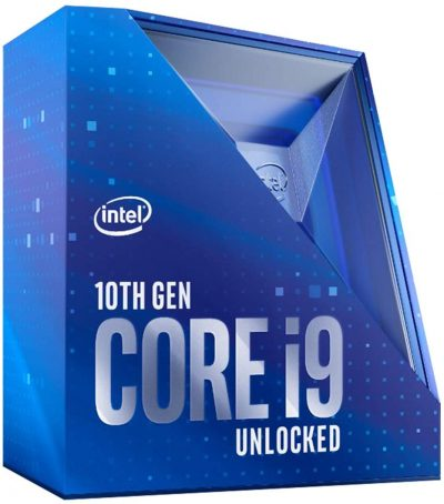 Intel Core i9-10900K unlocked 10C/20T 5.3GHz OC Processor 20MB Cache