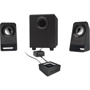 Logitech Z213 2.1 Speaker System - 7 W RMS - Desktop - 65 Hz to 20 kHz CONTROL POD W/ VOL & BASS