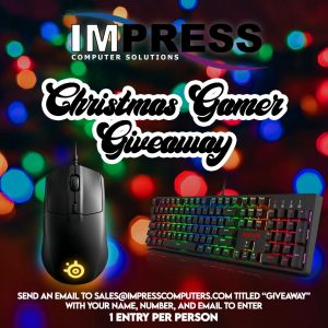 Christmas Gamer Giveaway