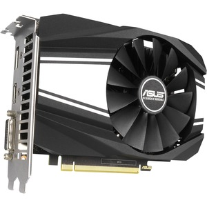 Asus Phoenix PH-GTX1660-O6G GeForce GTX 1660 Graphic Card - 6 GB GDDR5 - 1.56 GHz Core - 192 bit Bus Width - DisplayPort - HDMI - DVI PHOENIX FAN EDITION HDMI DP DVI