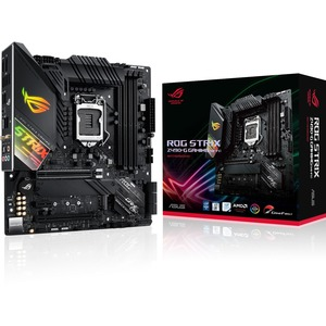 Asus ROG Strix Z490-G GAMING (WI-FI) Desktop Motherboard - Intel Chipset - Socket LGA-1200 - 128 GB DDR4 SDRAM Maximum RAM