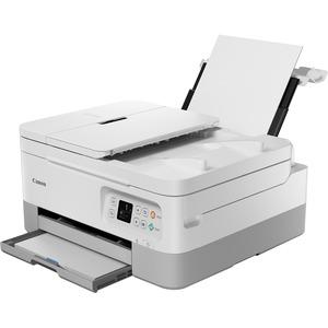 Canon PIXMA TR TR7020 Inkjet Multifunction Printer - Color - Copier/Printer/Scanner - Automatic Duplex Print - 200 sheets Input - Wireless LAN